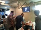 Dr. Behzad Hassani teaches pleural ultrasound