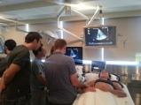 Dr. Ramiro Arellano and pleural ultrasound