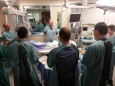 Group workshop on sterile technique