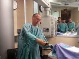 Dr. Jeff Granton teaches nuances of sterile technique