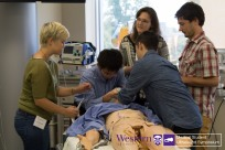 Team 4 decides to intubate during Simulation station of Sono Games