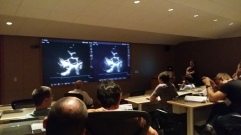 Cardiac image interpretation with Professor Mayo conducting.