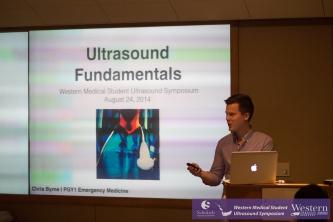 Byrne on Ultrasound Fundamentals. Image credit: @squartadoc on Twitter.