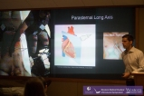 Lung Ultrasound workshop led by Dr. Rob Arntfield. Clinically important artifacts are not limited to ECGs!