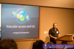 Dr. Uppal on procedural ultrasound.