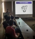Behzad Hassani leading image interpretation sessions