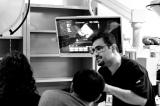 Behzad Hassani providing expert echo advice