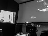 Bret Nelson cool under pressure demonstrating principles of abdominal ultrasound