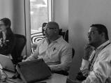Seth Koenig and Houman Khosravani co run a small group session