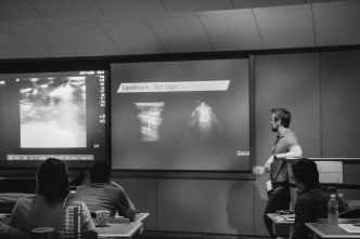 Dr. Myslik demystifying the artifacts of lung ultrasound