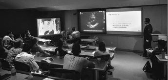Dr. Coome and Dr. Hassani impress with the multi-media instruction